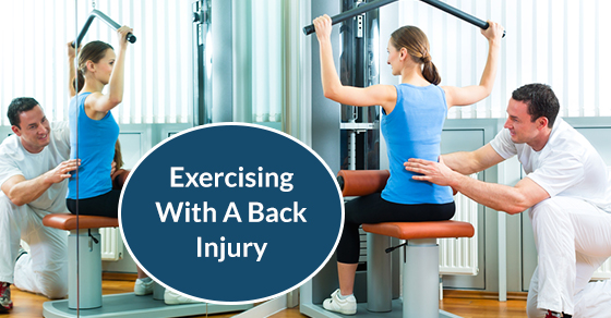 Exercising With A Back Injury